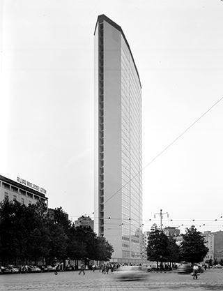 pirelli tower / milan /  gio ponti + pier luigi nervi / 1958
