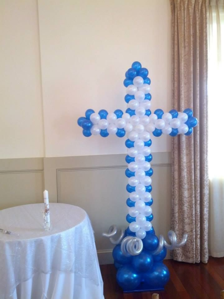 6ft tall Cross Sculpture . . .perfect for a Christening, First Communion or a Confirmation Celebration!