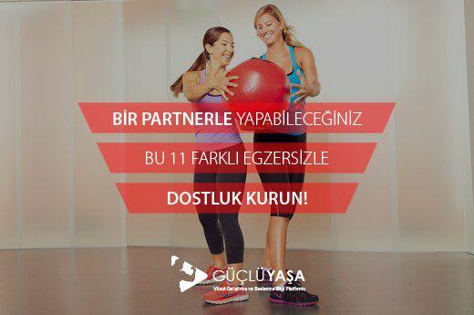 Bir partnerle yapabileceğiniz bu 11 egzersizi hemen keşfedin!  #vücutgeliştirme #bodybuilding #egzersiz #kardiyo #spor #partner #esneme #yağyakma #fitlife #fityaşam #sağlıklıyaşam #vücut #kiloverme #zayıflama #jimnastik #türkiye #güçlüyaşa