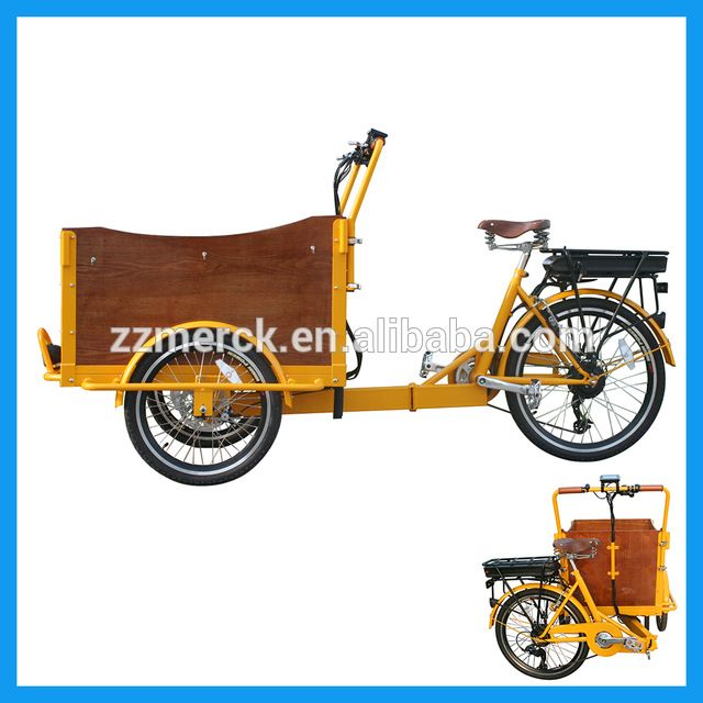 Source 3 Wheel Tricycle Cargo Electric Taxi Bike On M