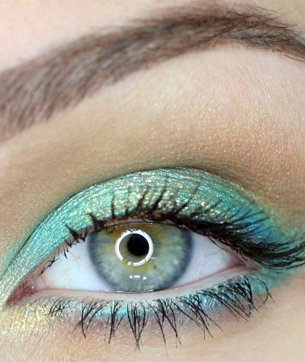 Subtiles Augen Make-up – Nette Tipps und Tricks   – türkis ♥ Parfum.de