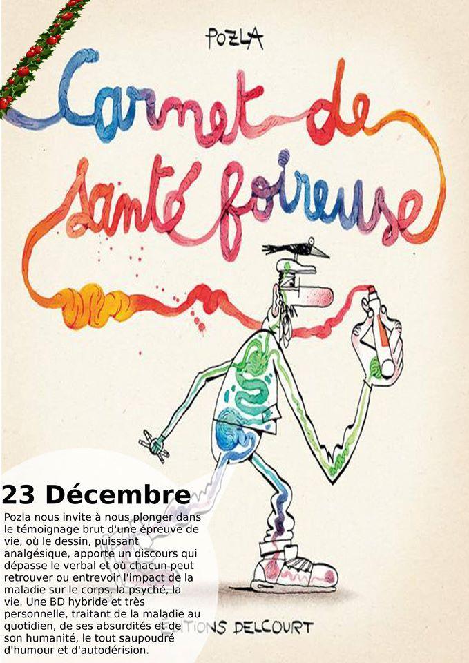 Carnet de santé foireuse - Pozla - Delcourt