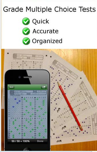 ZipGrade A Good Grading App for Teachers ~ Educational Technology and Mobile Learning