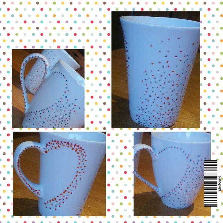 Sharpie mugs - oven baked ♡