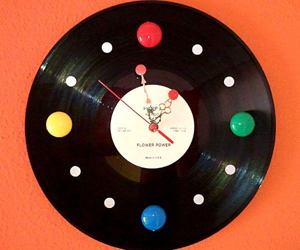M s de 25 ideas fant sticas sobre artesan as de discos de - Discos vinilos decorativos ...