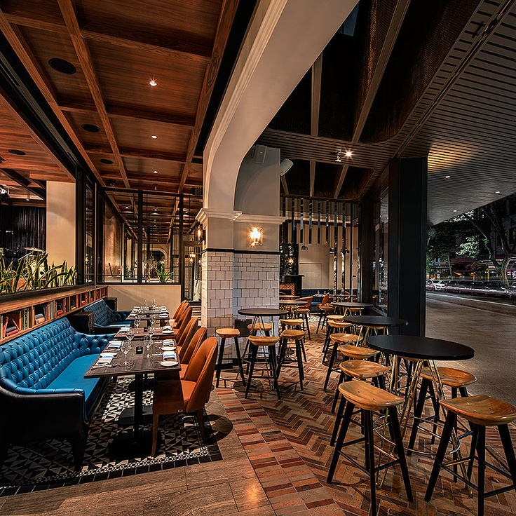Head to the iconic Bourbon Hotel, in the heart of Kings Cross, for a 1920's New Orleans-inspired affair. The Darlinghurst Road pub is now home to an elegant restaurant, headed by hatted chef James Metcalfe.