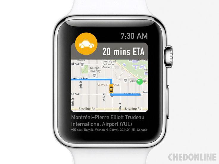 Apple Watch Travel App