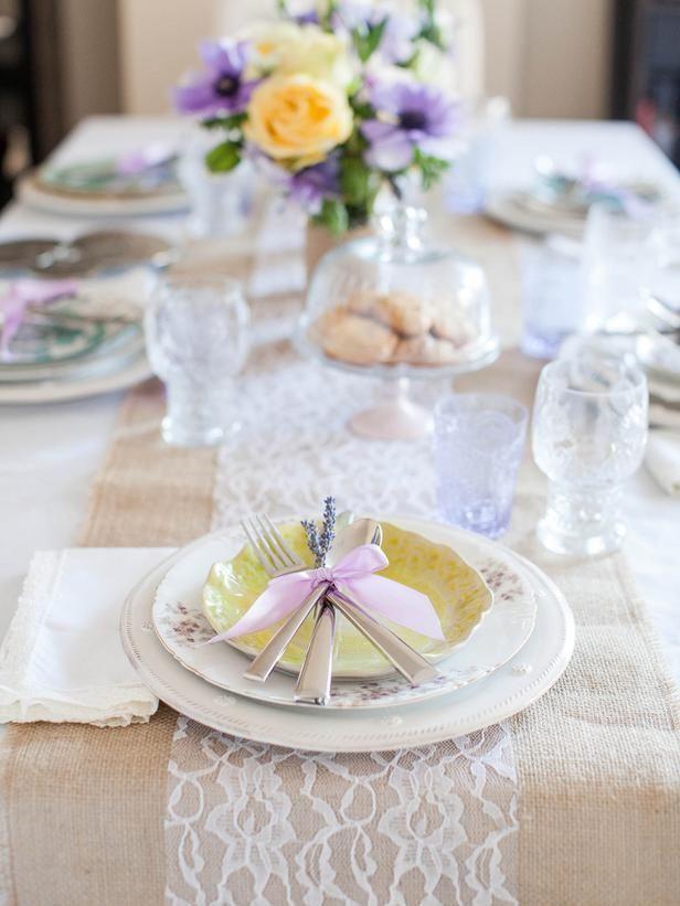 Une jolie table façon vintage pour la fête des mères