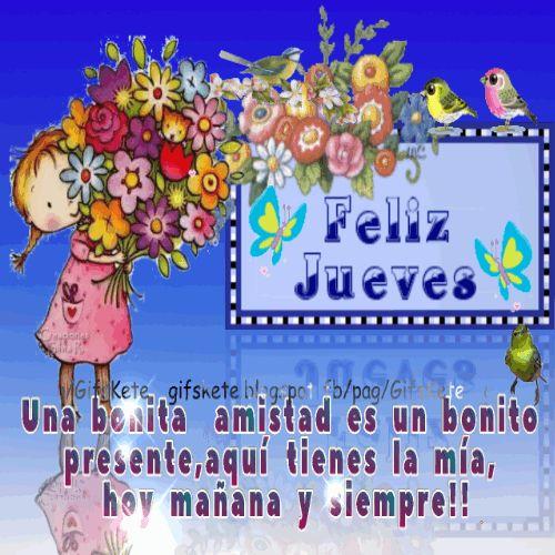 Una bonita  amistad es un bonito  presente,aquí tienes la mía,  hoy mañana y siempre!!  Lindo jueves!!
