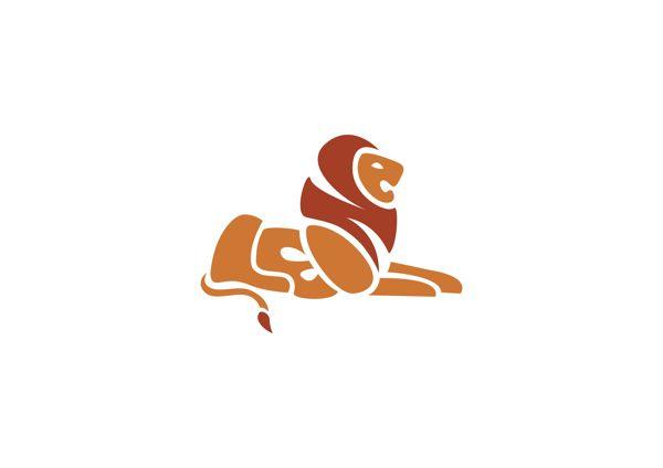Lion Calligram (Leone means Lion in italian) by Veronica Ciceri, via Behance