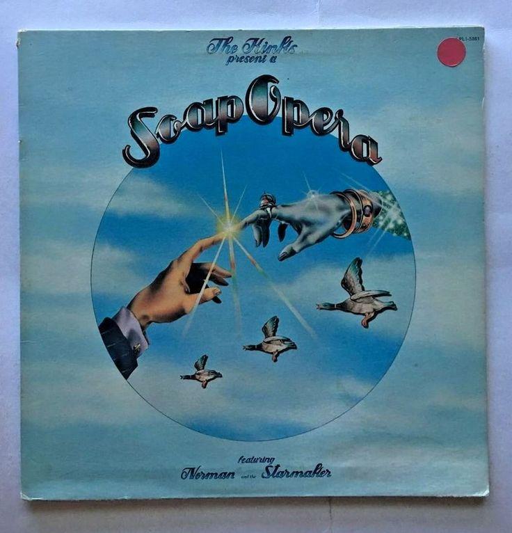 THE KINKS [LP] SOAP OPERA (VINYL 1975 RCA RECORDS) LPL1-5081-B #AlternativeIndie