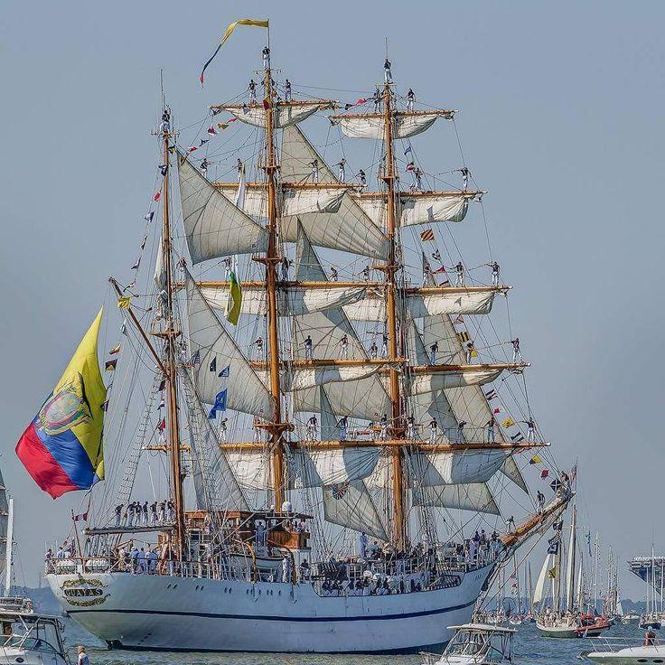 138 mentions J'aime, 2 commentaires – RDV2017 (@rdv2017) sur Instagram : «Le magnifique Guayas 🇪🇨 doit son nom au fleuve au bord duquel l'École navale supérieure…»