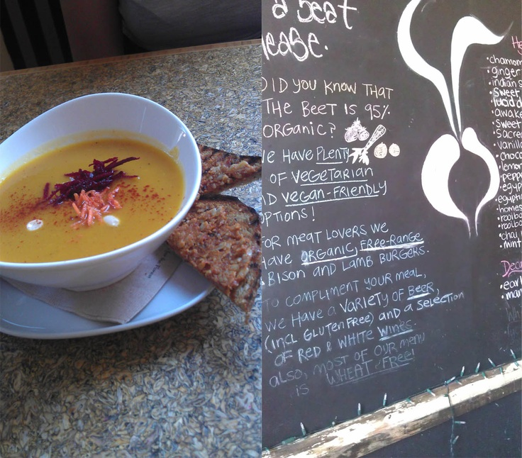 The Beet Organic Cafe: The Junction, Toronto