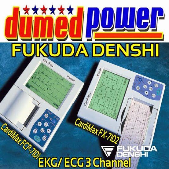 Fukuda-Denshi-EKG-3-Lead-CardiMax-FX-7102-dan-FCP-7101