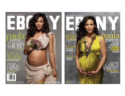 Paula Patton on the cover of Ebony in 2010.