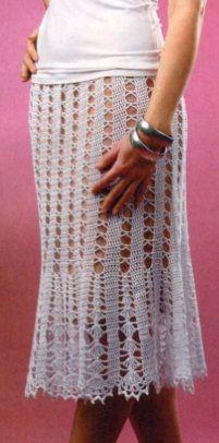 Free Crochet skirt pattern
