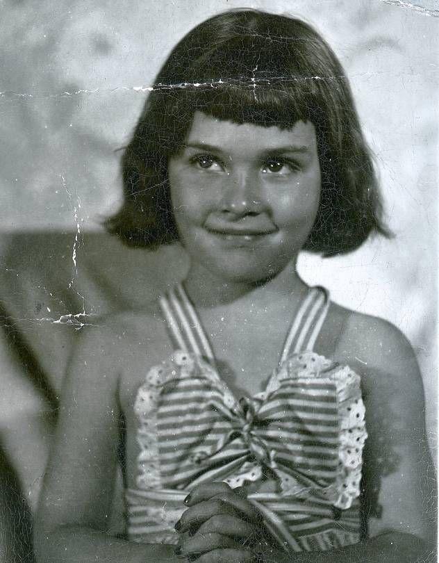 Judge Judy Sheindlin, as a Brooklyn, NY schoolgirl.