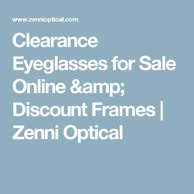 Clearance Eyeglasses for Sale Online & Discount Frames | Zenni Optical