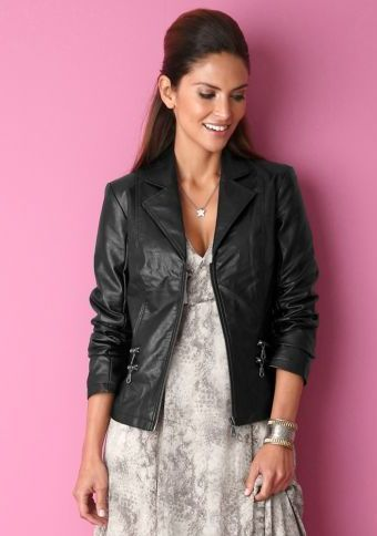 Bunda v koženém vzhledu #ModinoCZ #jacket #goodlooking #fashion #moda #trendy #bunda #kratkabunda #stylish #styl