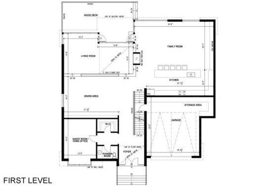 Dise o de casa de dos pisos que impresiona con fachada for Diseno de interiores de casas planos