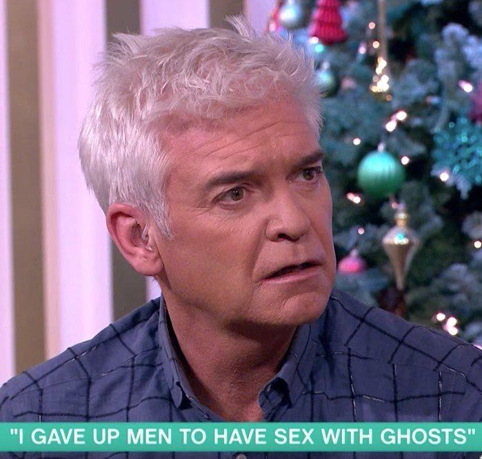 Phil and Holly Meet the Woman Who Gave Up Men to Sleep With Ghosts