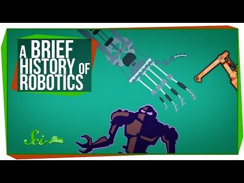 A Brief History of Robotics by scishow: Why don't we have robots taking care of our every need by now? A little history of the field of robotics might help you understand how hard it is to get machines to perform tasks, and far we've come in just a few decades. Support on Subbable: https://subbable.com/scishow