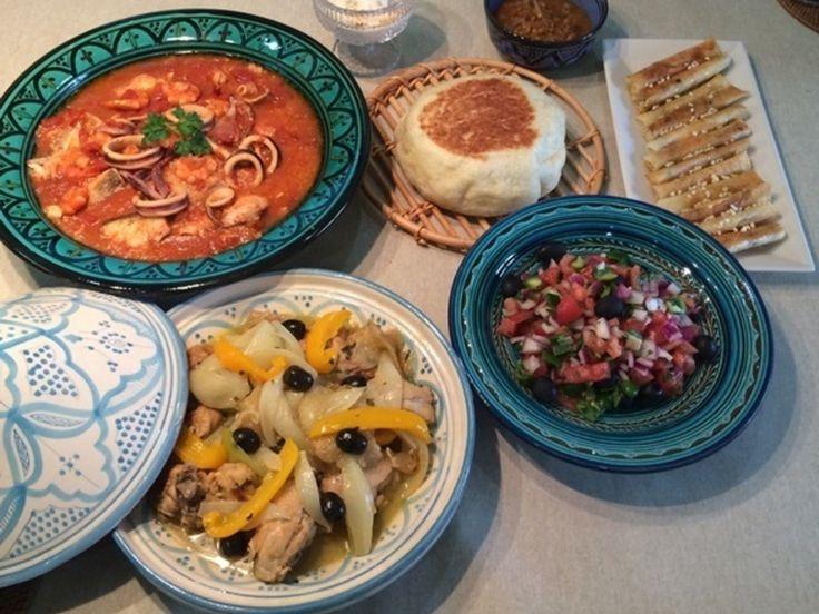 今日もモロッコ料理~♪