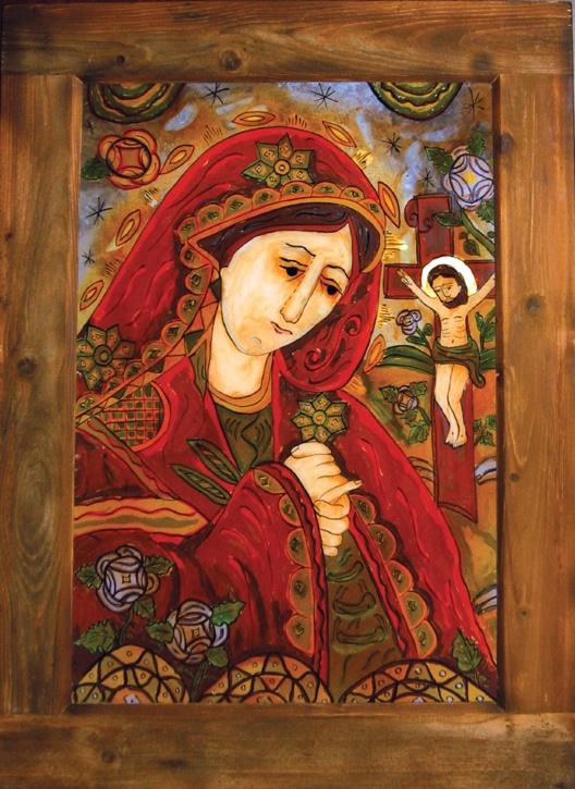Romanian icon.....Desis figure