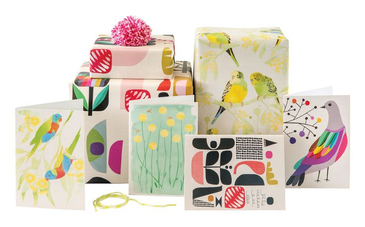 Earth friendly cards and wrapping paper by Earth Greetings.  Made in Australia from 100% post-consumer waste and Accredited Carbon Neutral.