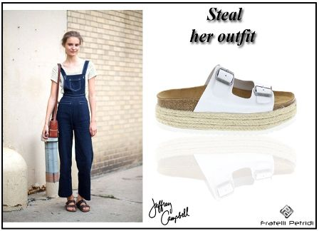#fratellipetridi #jeffreycapbell #sandals #white #casual #summer #look #fashion