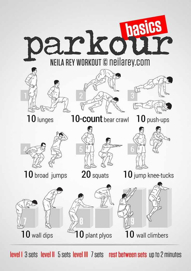 Parkour Full Body Workout