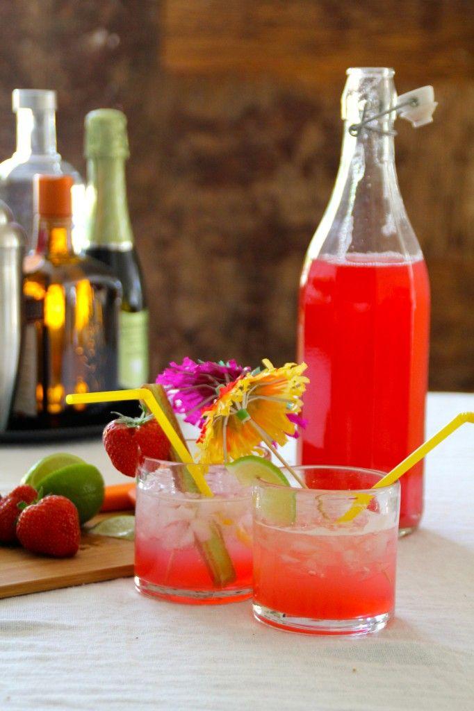 Rabarbrasirup /rhubarb sirup