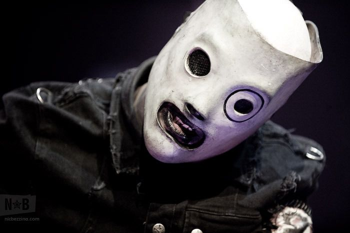 Corey's mask from the most recent Slipknot album and tour.