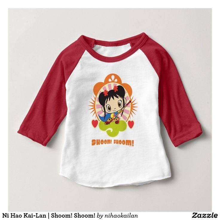 Ni Hao Kai-Lan | Shoom! Shoom! T-Shirt. Producto disponible en tienda Zazzle. Vestuario, moda. Product available in Zazzle store. Fashion wardrobe. Regalos, Gifts. Trendy tshirt. #camiseta #tshir