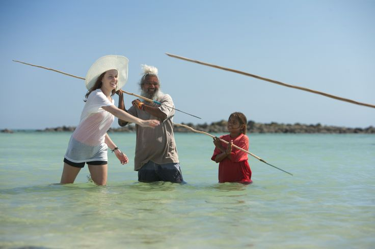 The Nine Best Aboriginal Experiences in Australia  [Learning spear throwing on the Dampier Peninsula]