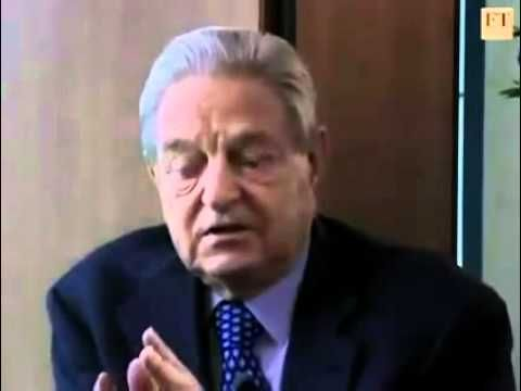 """Soros discussing """"an orderly decline"""" of the U.S. dollar, the coming global currency and the importance of the New World Order...."""