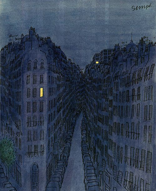 Up all night by Jacques Sempe.