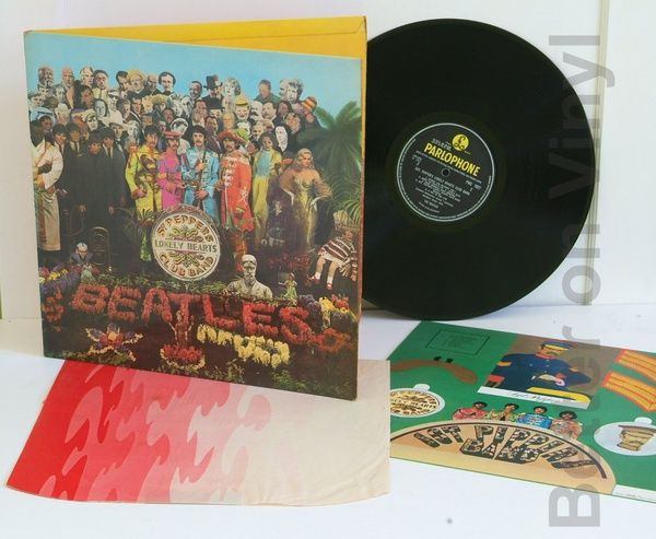 THE BEATLES, Sgt Peppers Lonely Hearts Club Band. - ROCK, PSYCH, PROG, POP, SHOE GAZING, BEAT