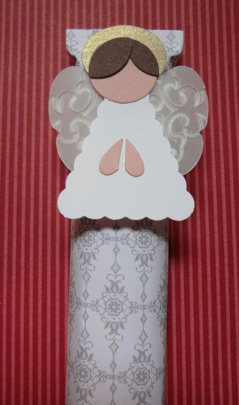 Beth's Paper Cuts: Punch art Angel