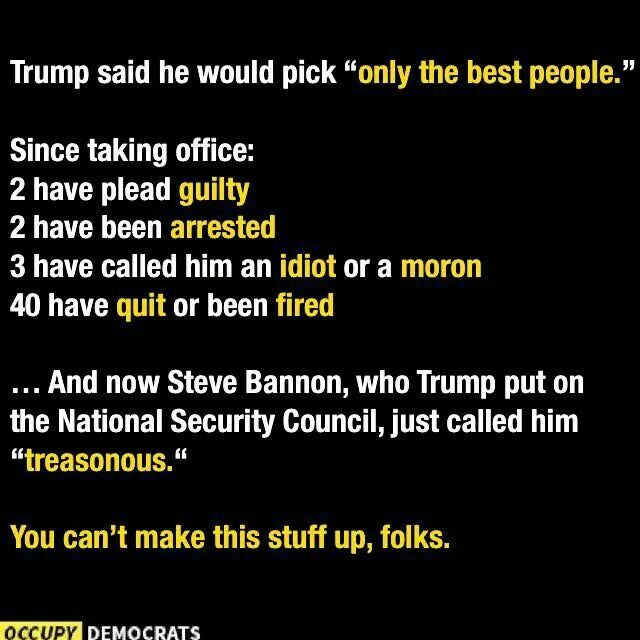 Flynn and Bannon took part in highly sensitive security briefings before Trump fired them and now hold secrets that can harm Trump or the nation. You pick.