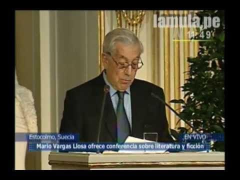 Discurso Nobel Literatura 2010 Mario Vargas Llosa Completo