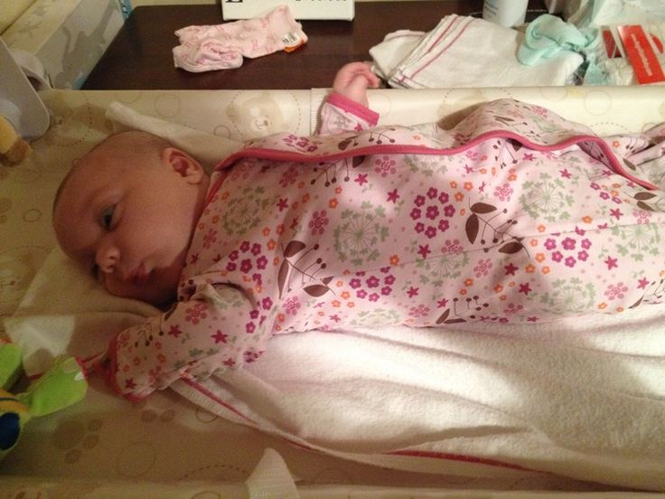 Beautiful Nina just changed into her Magnificent Baby Mod Floral Gown