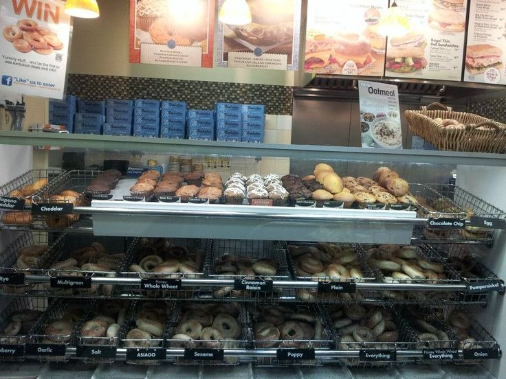 Manhattan Bagel Company - West Caldwell, NJ, United States. Bagels and Muffins