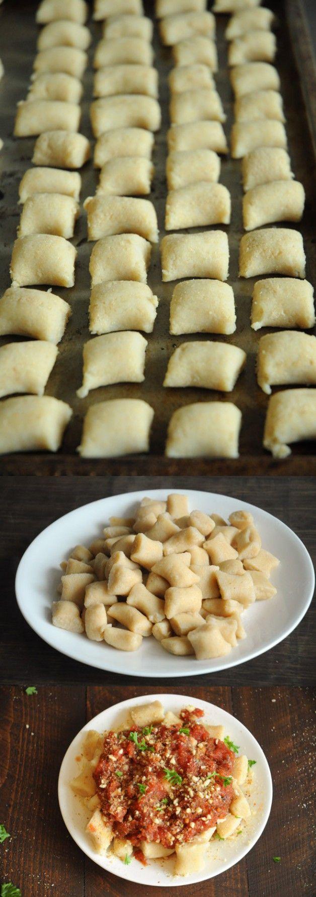 3 Ingredient Vegan Gnocchi | Vegan Recipes from Cassie Howard