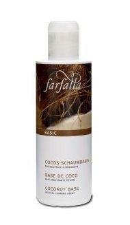 Deze kokos schuimbasis van Farfalla is BDIH gecertificeerd en zeer geschikt als basis voor zelfgemaakte shampoo, douchgel en vloeibare handzeep.