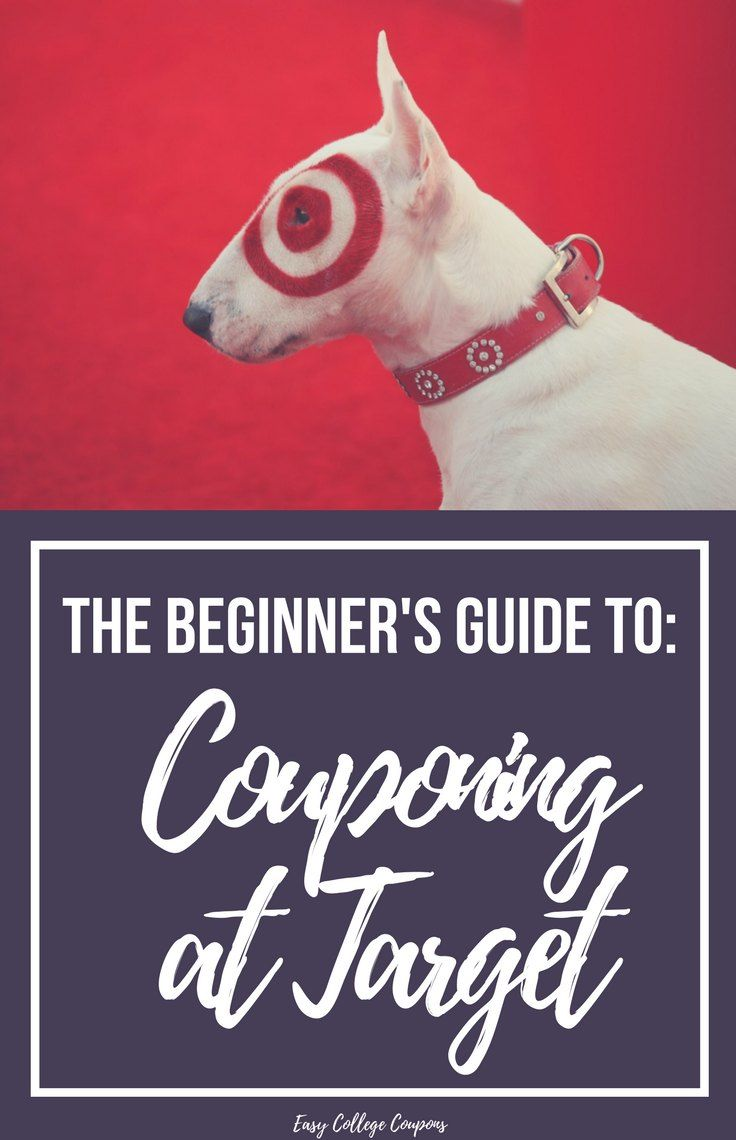Couponing for Beginners | Target | How to