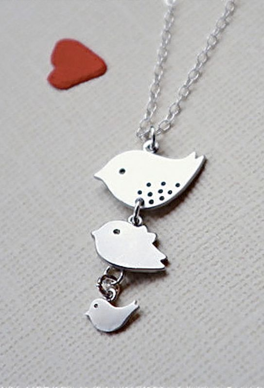 Family Necklace Personalized
