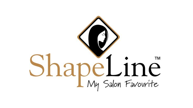 Logo design, company branding, product and packaging design for shaplines hair products.