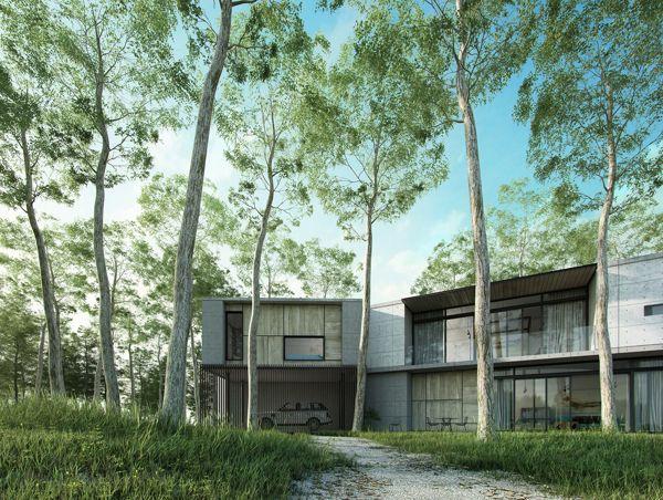 Batu Guest Residence by Fadzli Ibrahim, via Behance