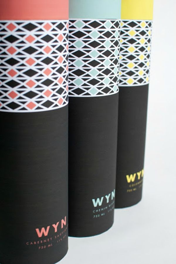 South African wine packaging   WYNsouth africa